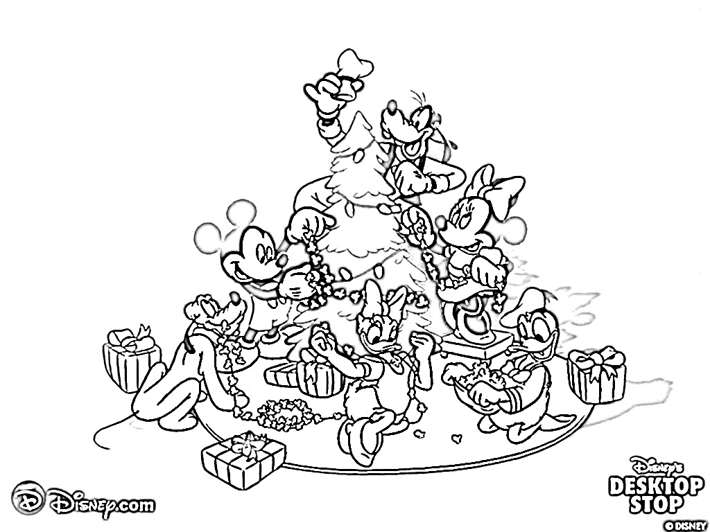 Free Disney Christmas Colouring Sheets With Mickey Mouse Color Opticanovosti Ea5bc9527d71