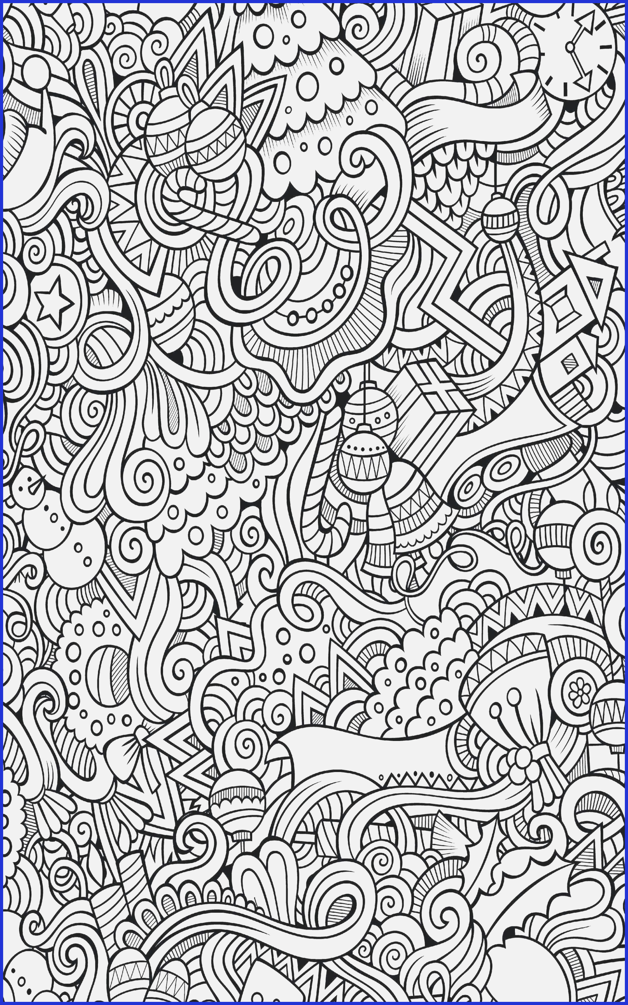 Free Online Christmas Coloring Pages For Adults With Adult Books Line