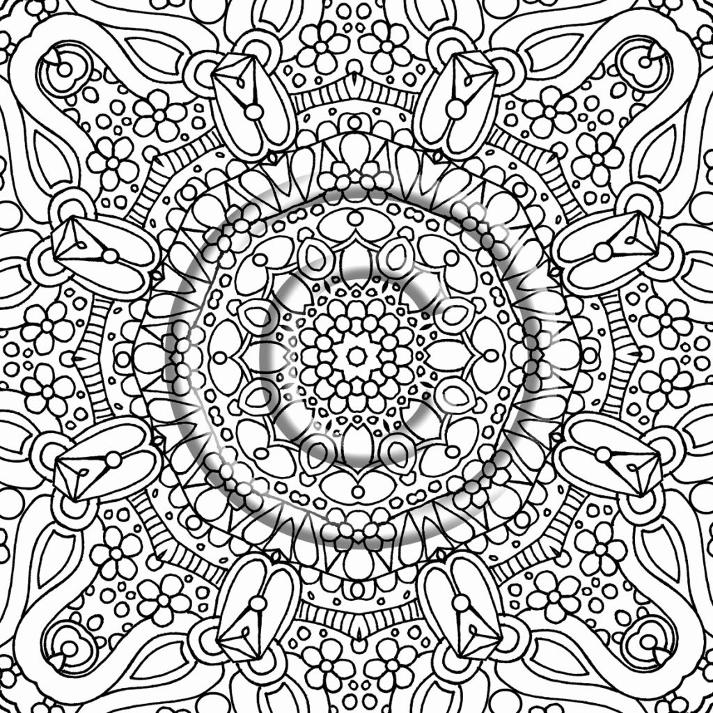 Free Online Christmas Coloring Pages For Adults With Best Of