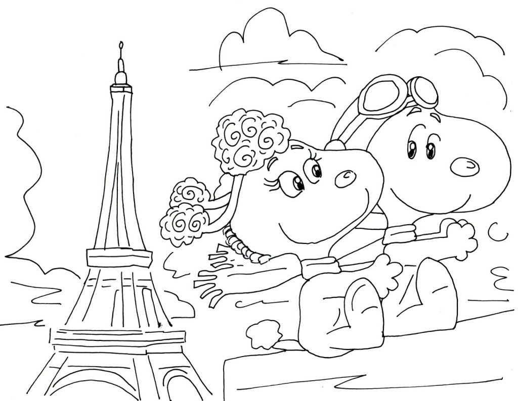 Free Printable Charlie Brown Christmas Coloring Pages With Peanuts Characters 2554970
