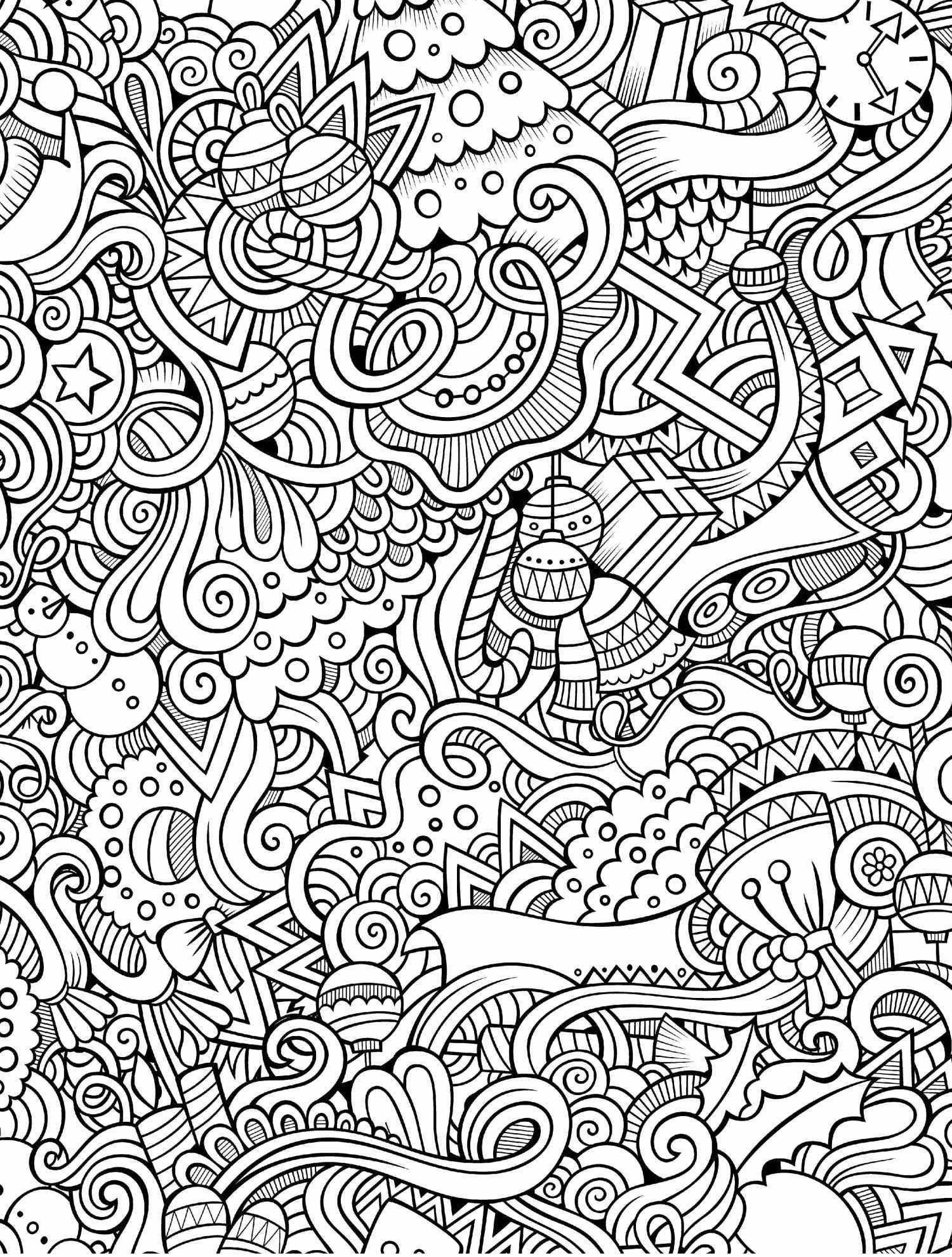 Free Printable Christmas Card Coloring Pages With Awesome