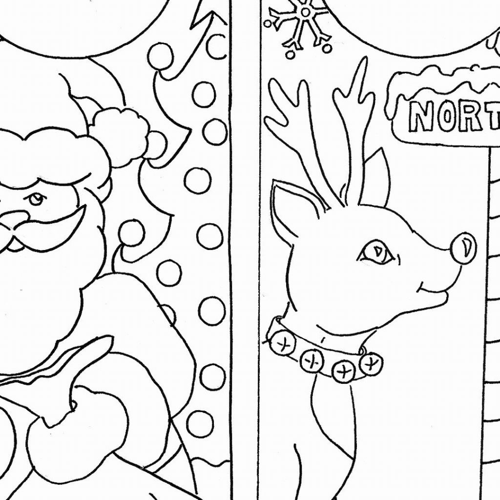 Free Printable Christmas Card Coloring Pages With Cards 9 Futurama Me
