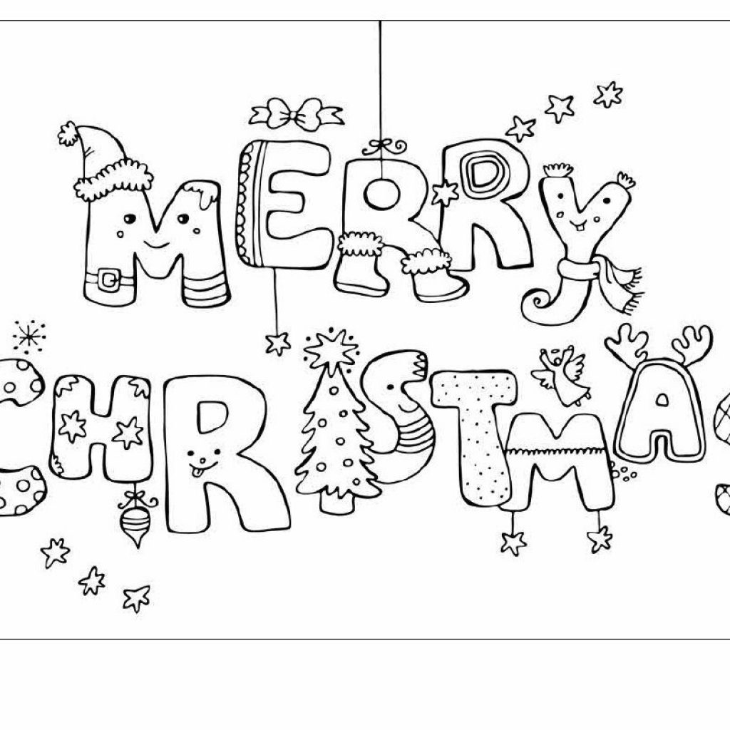 Free Printable Christmas Card Coloring Pages With Kids Cards Happy Holidays