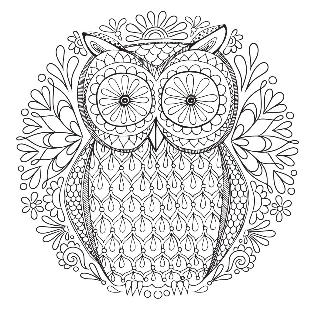 Free Printable Christmas Coloring Pages For Adults Only With