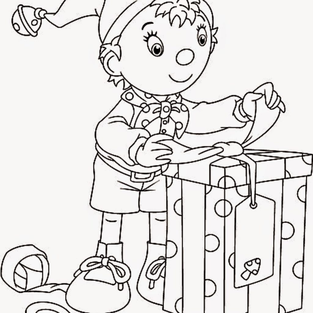 Free Printable Christmas Elves Coloring Pages With Elf Books