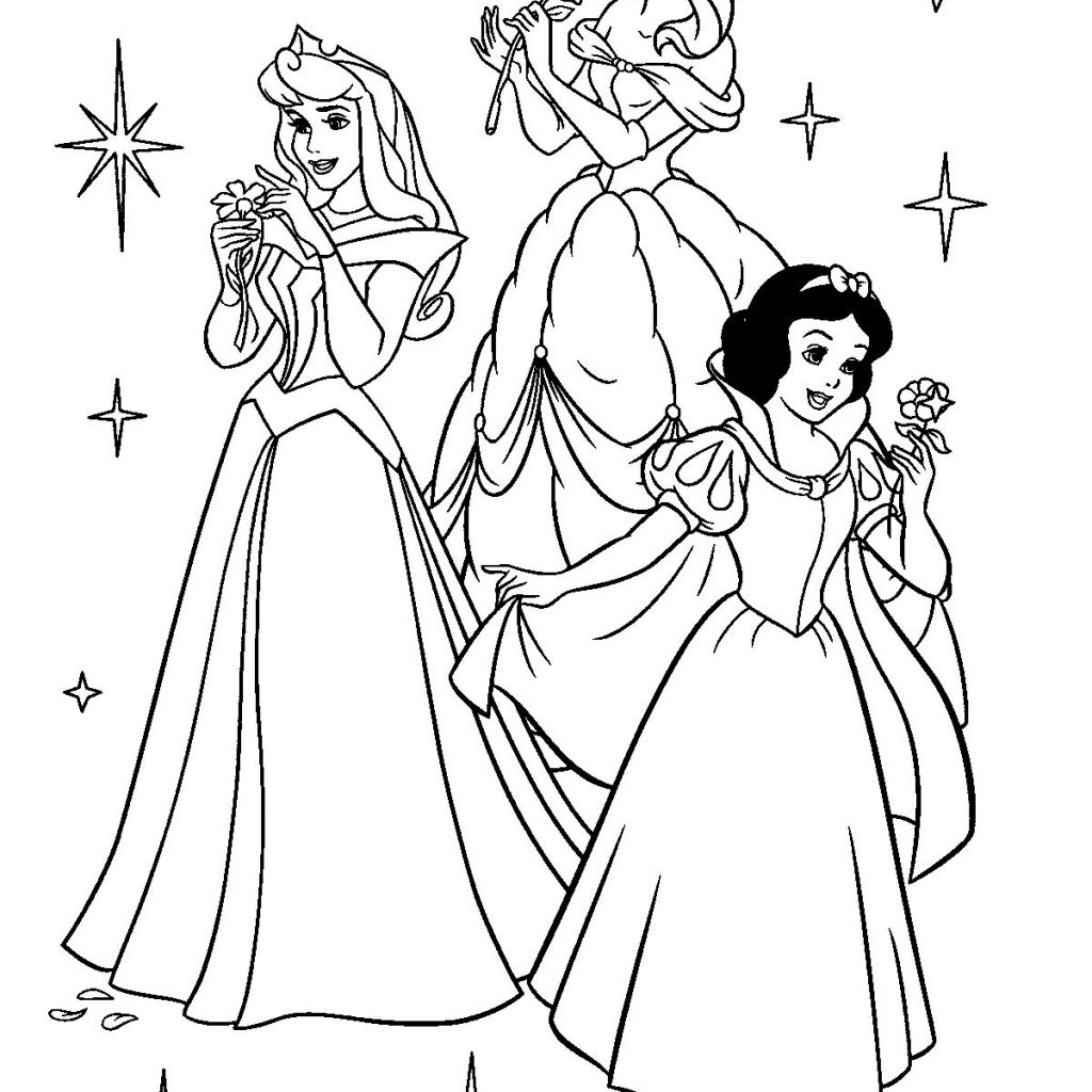 Free Printable Disney Princess Christmas Coloring Pages With For Kids Sz Nez K