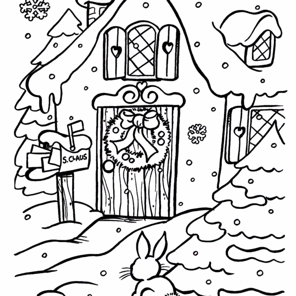 Free Printable Vintage Christmas Coloring Pages With Hundreds Of Xmas And Activity