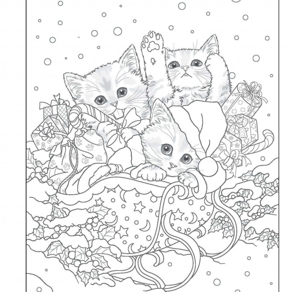 Free Victorian Christmas Coloring Pages With Book Best