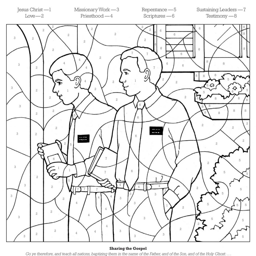 General Santa Anna Coloring Pages With LDS Dr Odd