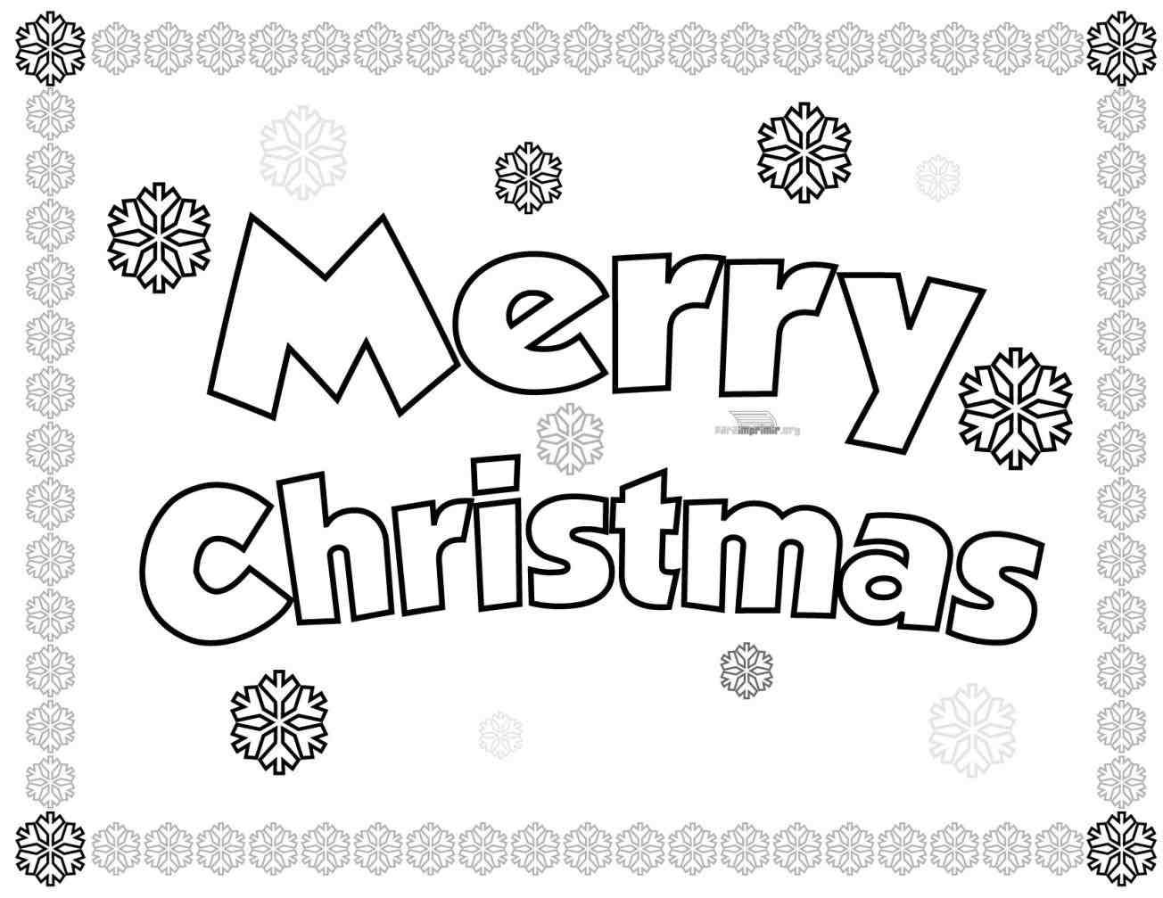 Happy Christmas Coloring Pages With New Post Merry For Adults Xmast