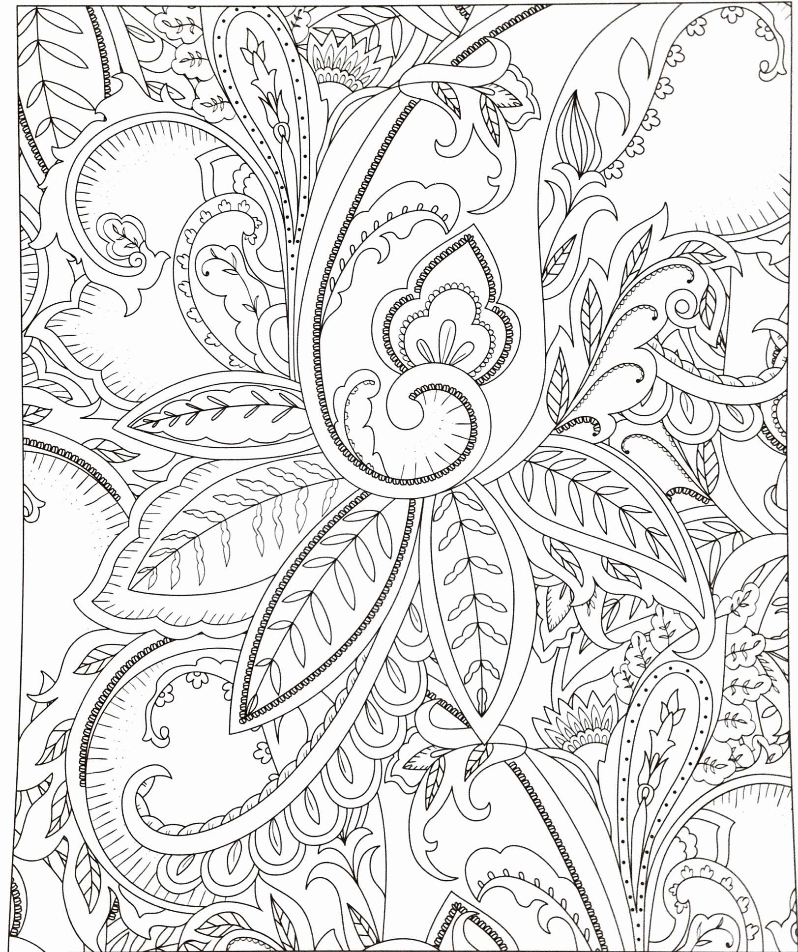 Hard Christmas Coloring Pages For Adults With Free