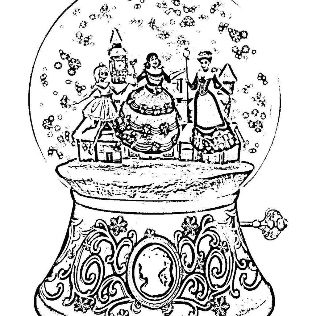 Hard Christmas Coloring Pages Printables With Save Beautiful