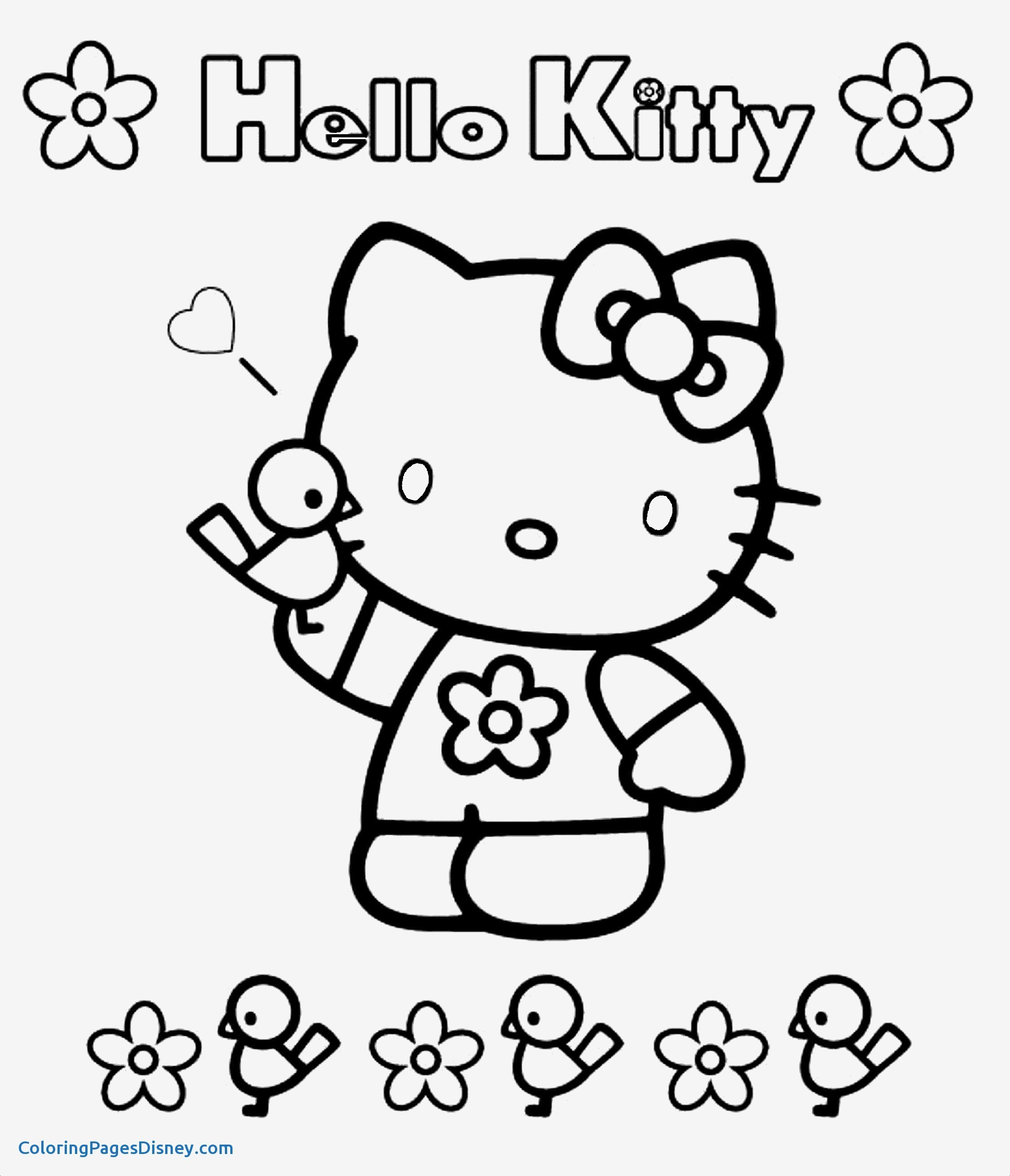 Hello Kitty Christmas Coloring Pages Free Print With Collection Of Pictures To Color And Download