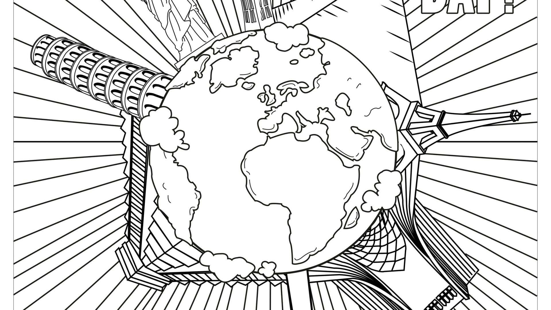 Italian Christmas Coloring Pages With For In