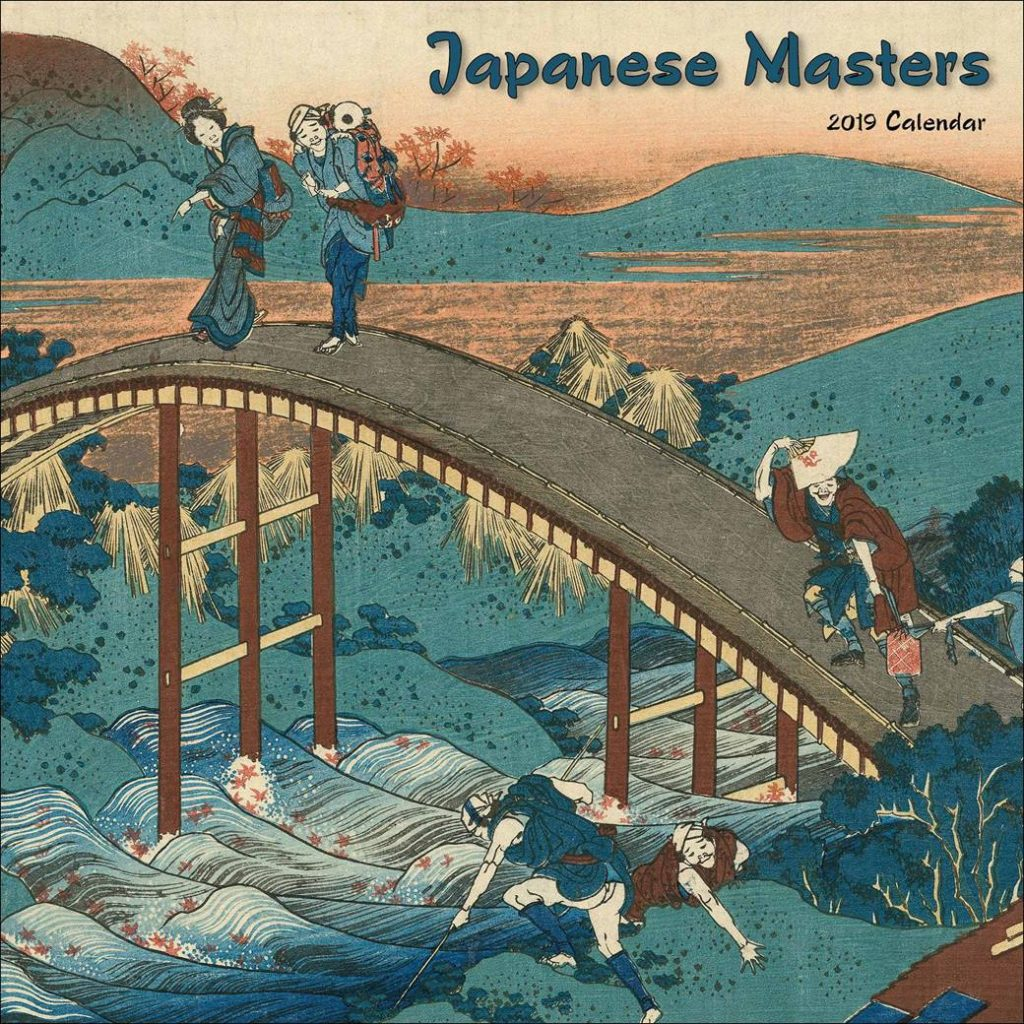 Japanese Calendar Year 2019 With Masters Club UK