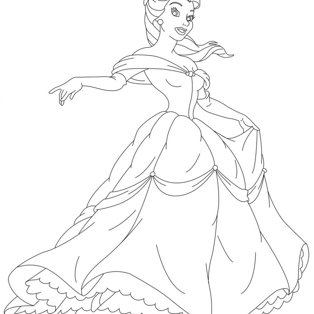 Jasmine Christmas Coloring Pages With
