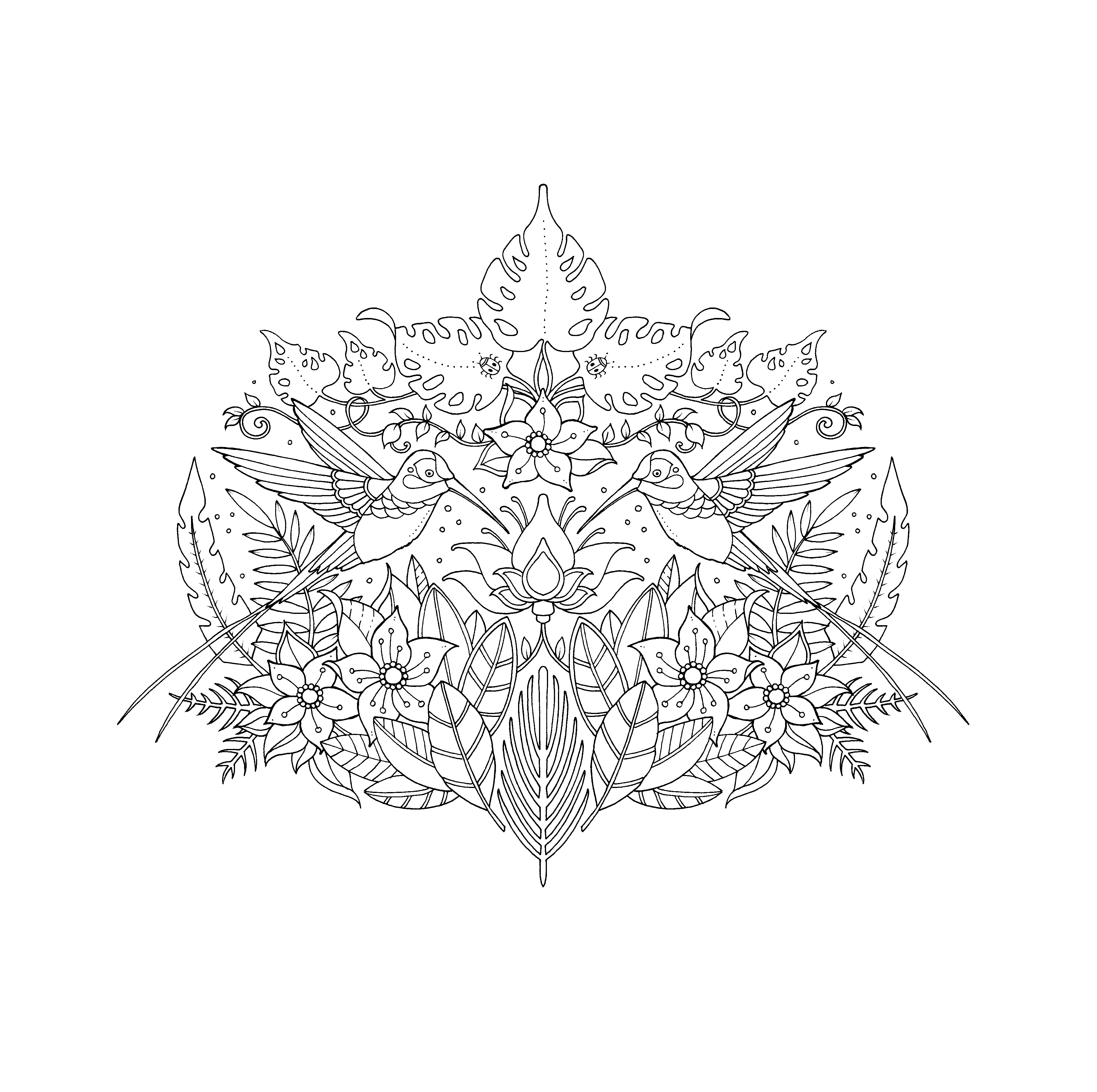 Johanna Basford Christmas Coloring Pages With Magical Jungle By Com
