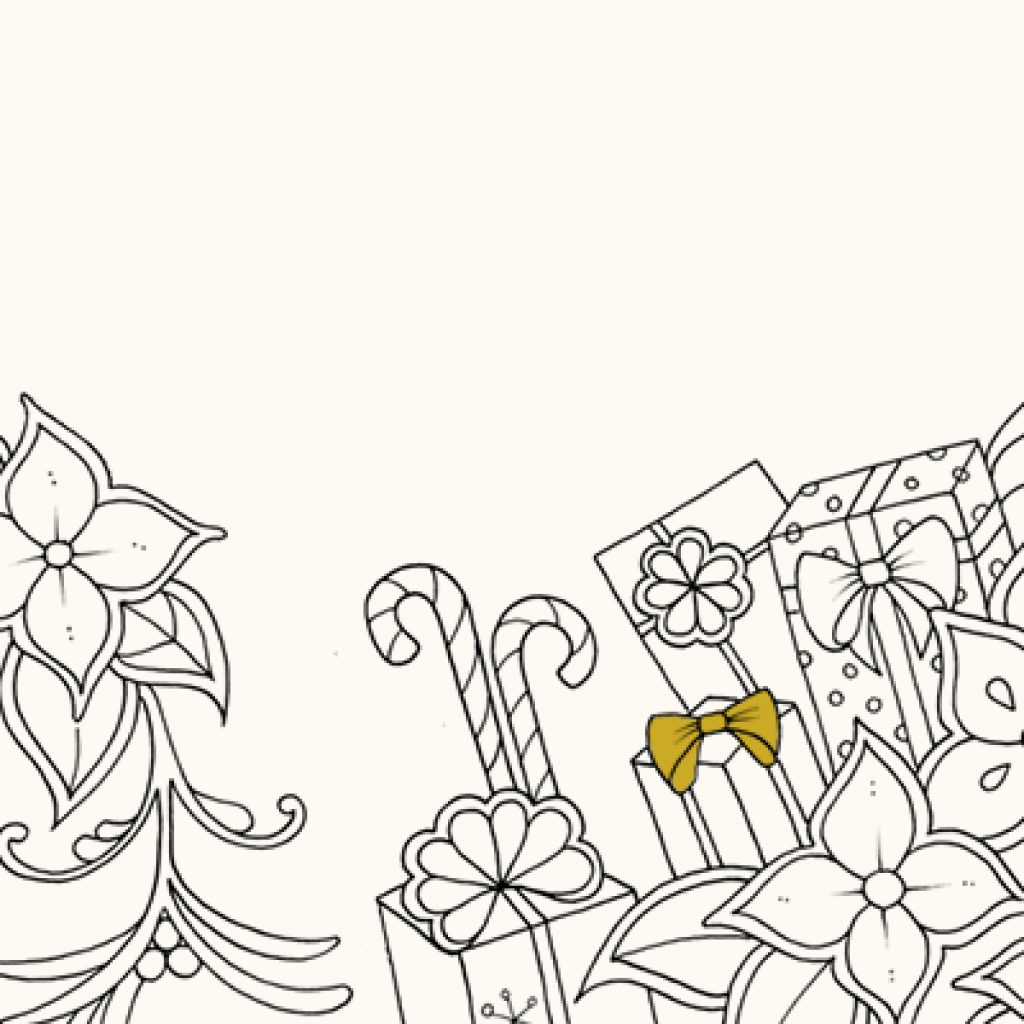 Johanna Basford Christmas Coloring Pages With S