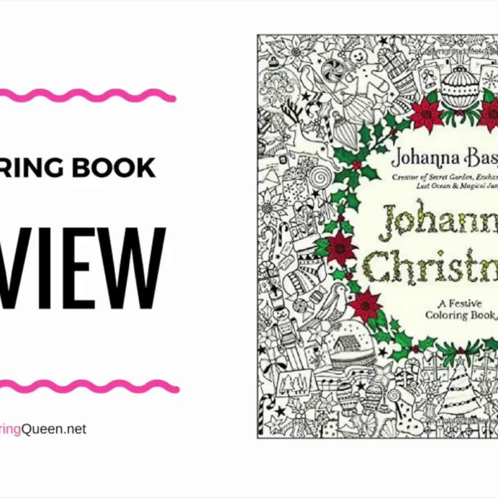 Johanna Basford Christmas Coloring Pages With S Book US Edition