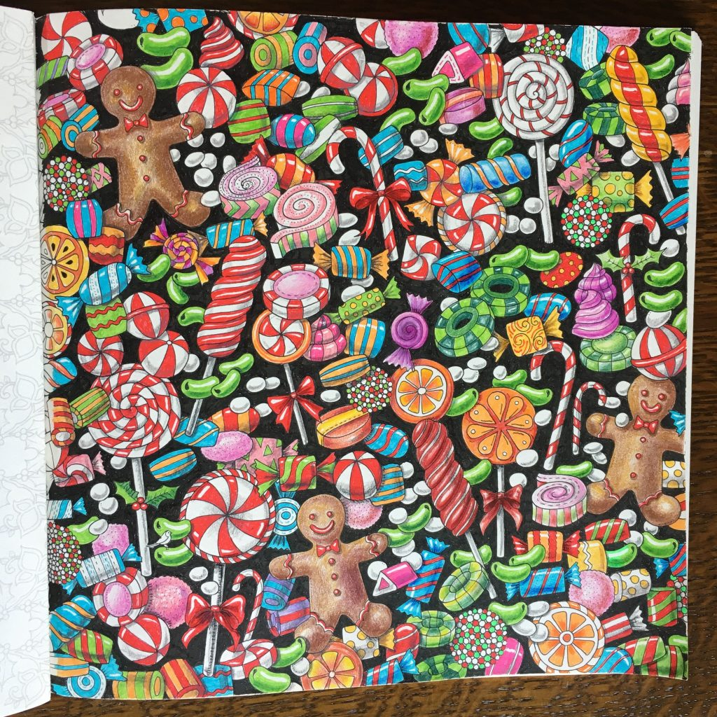 Johanna S Christmas Coloring Book With From The By Jody Marx Staedtler