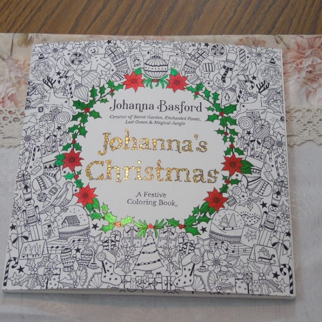 Johanna S Christmas Coloring Pages With Book By Basford YouTube