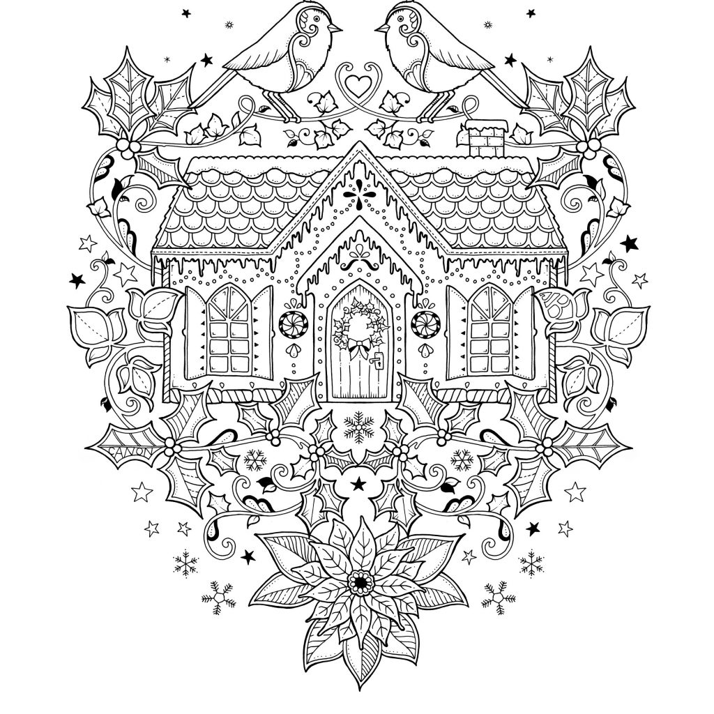 Johanna S Christmas Coloring Pages With Pin Od Moni Na Pinterest Color I