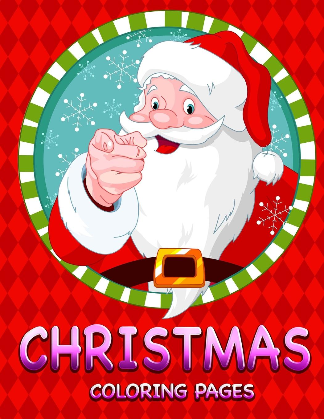 Jumbo Christmas Coloring Pages With Book Walmart Com