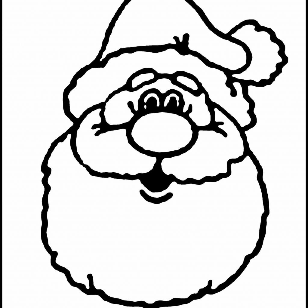 Kids Christmas Santa Claus Coloring Page Sheets With Reindeer Pages
