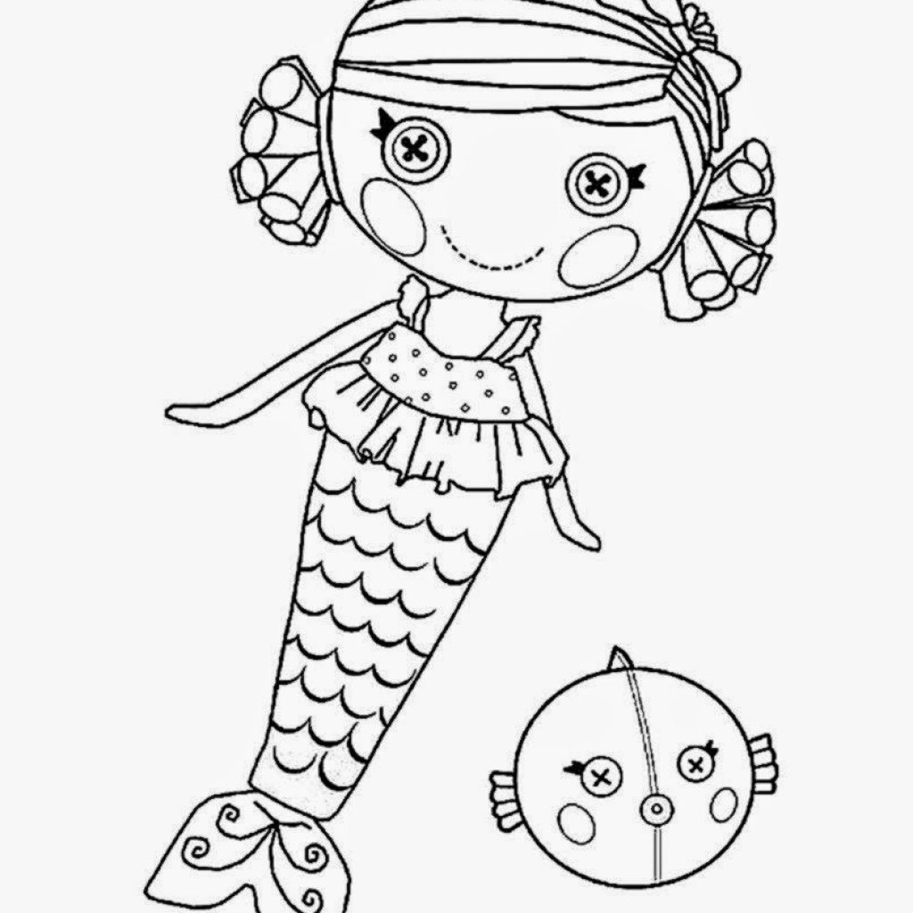 Lalaloopsy Christmas Coloring Pages With Free Pictures