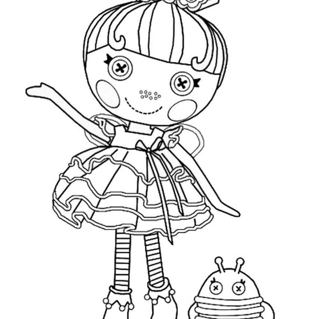 Lalaloopsy Christmas Coloring Pages With Pinterest