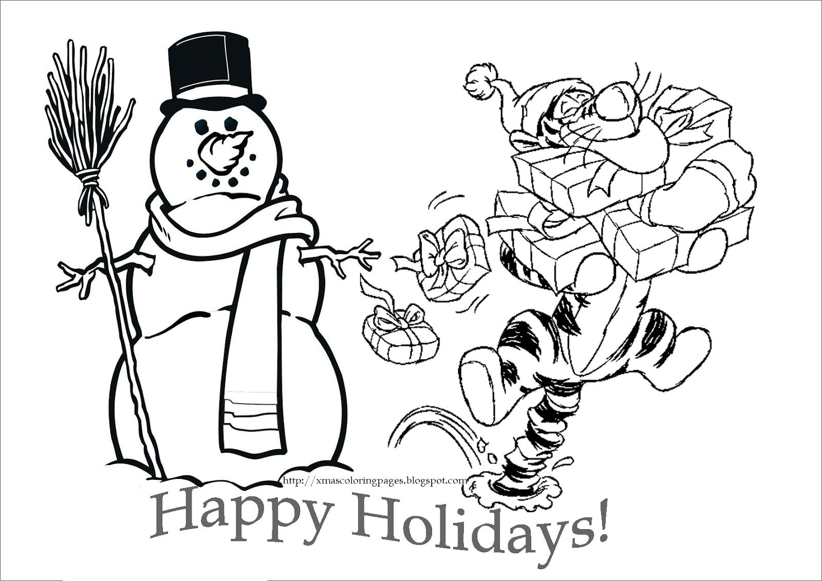 Lego Christmas Coloring Pages With DISNEY COLORING PAGES Paper Art Pinterest Tigger Disney