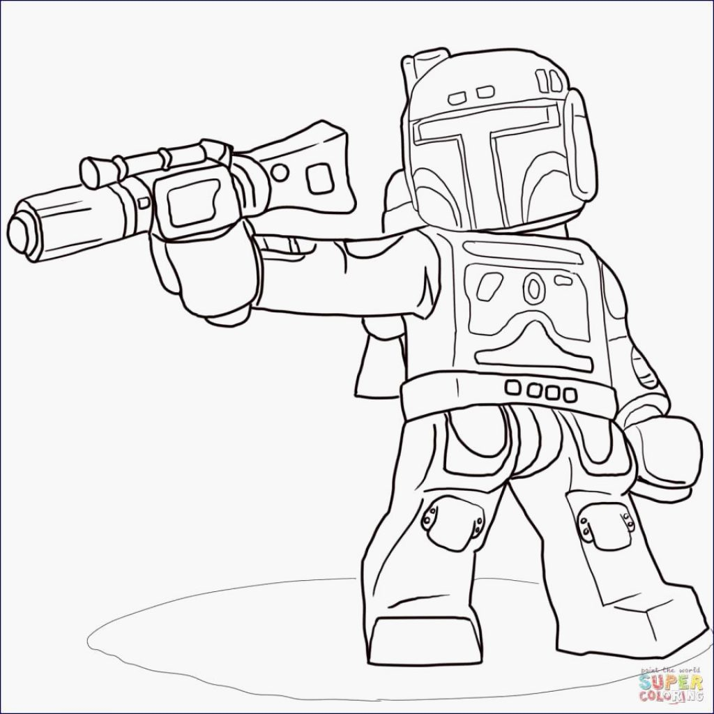 Lego Christmas Coloring Pages With Legos Star Wars