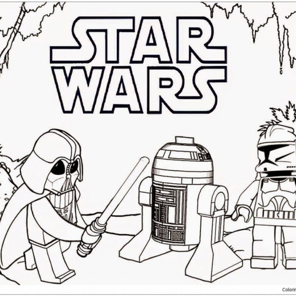 Lego Christmas Coloring Pages With Projects Idea Darth Vader Print Page