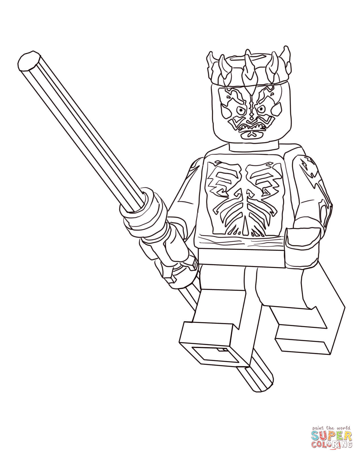Lego Christmas Coloring Pages With Star Wars Clone Page Free Printable