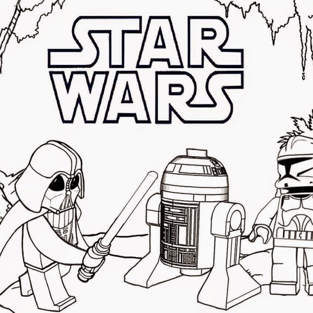 Lego Santa Claus Coloring Pages With For Boys Star Wars Download