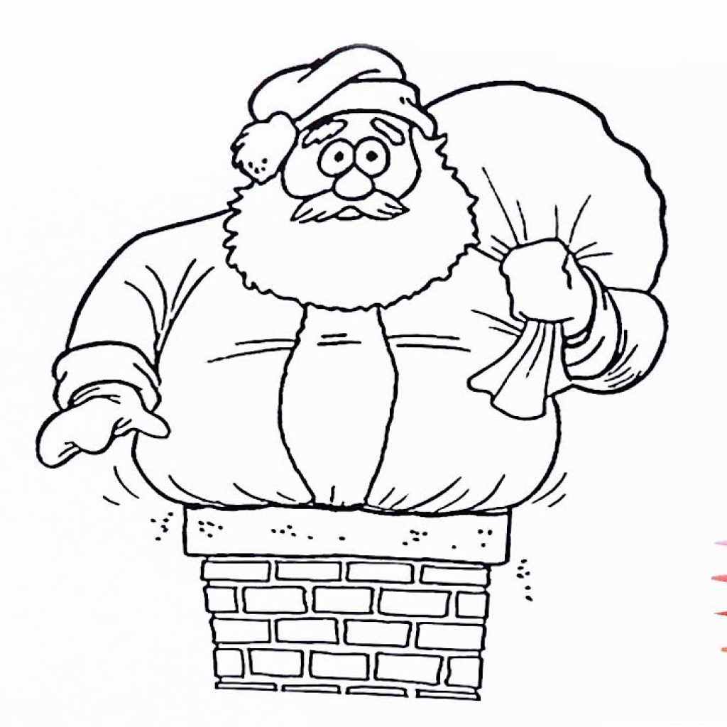 Lego Santa Claus Coloring Pages With For Kids 2 How To Color