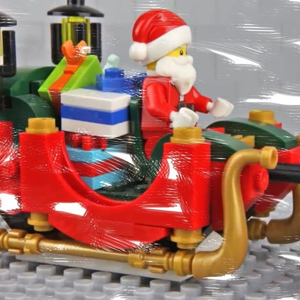 Lego Santa Claus Coloring Pages With For Kids YouTube