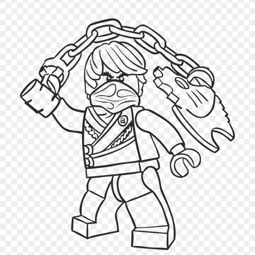 Lego Santa Claus Coloring Pages With LEGO Ninjago Drawing Book Cole Png