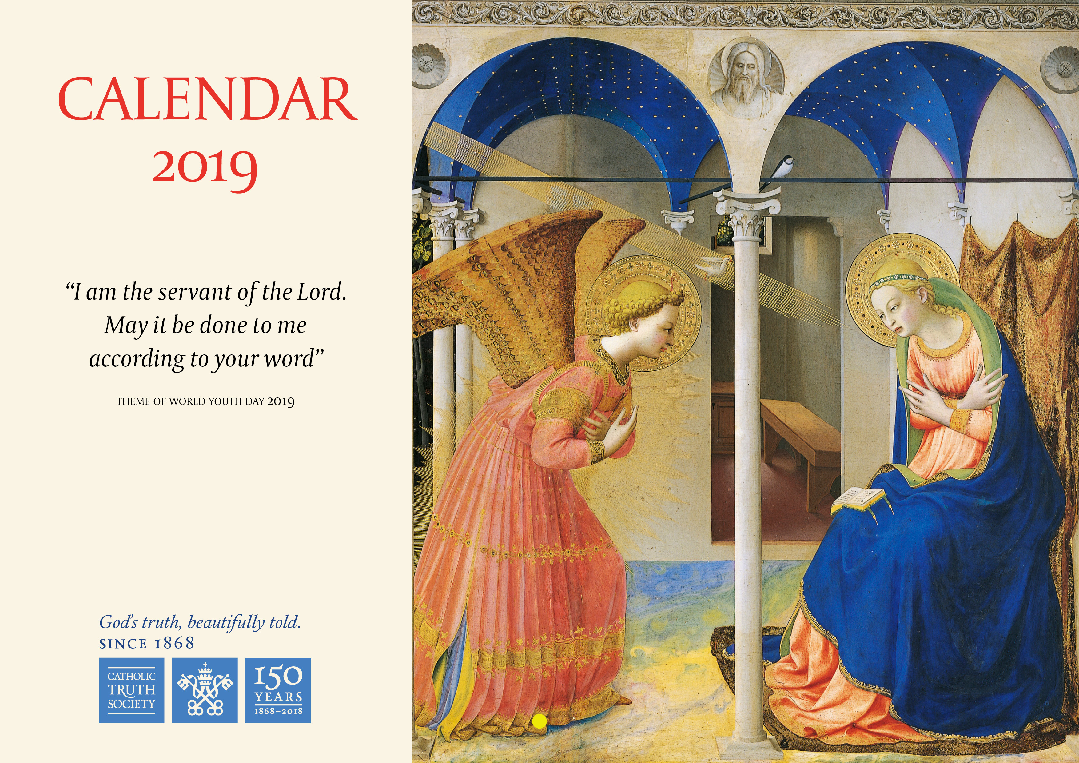 Liturgical Year Calendar 2019 With CTS
