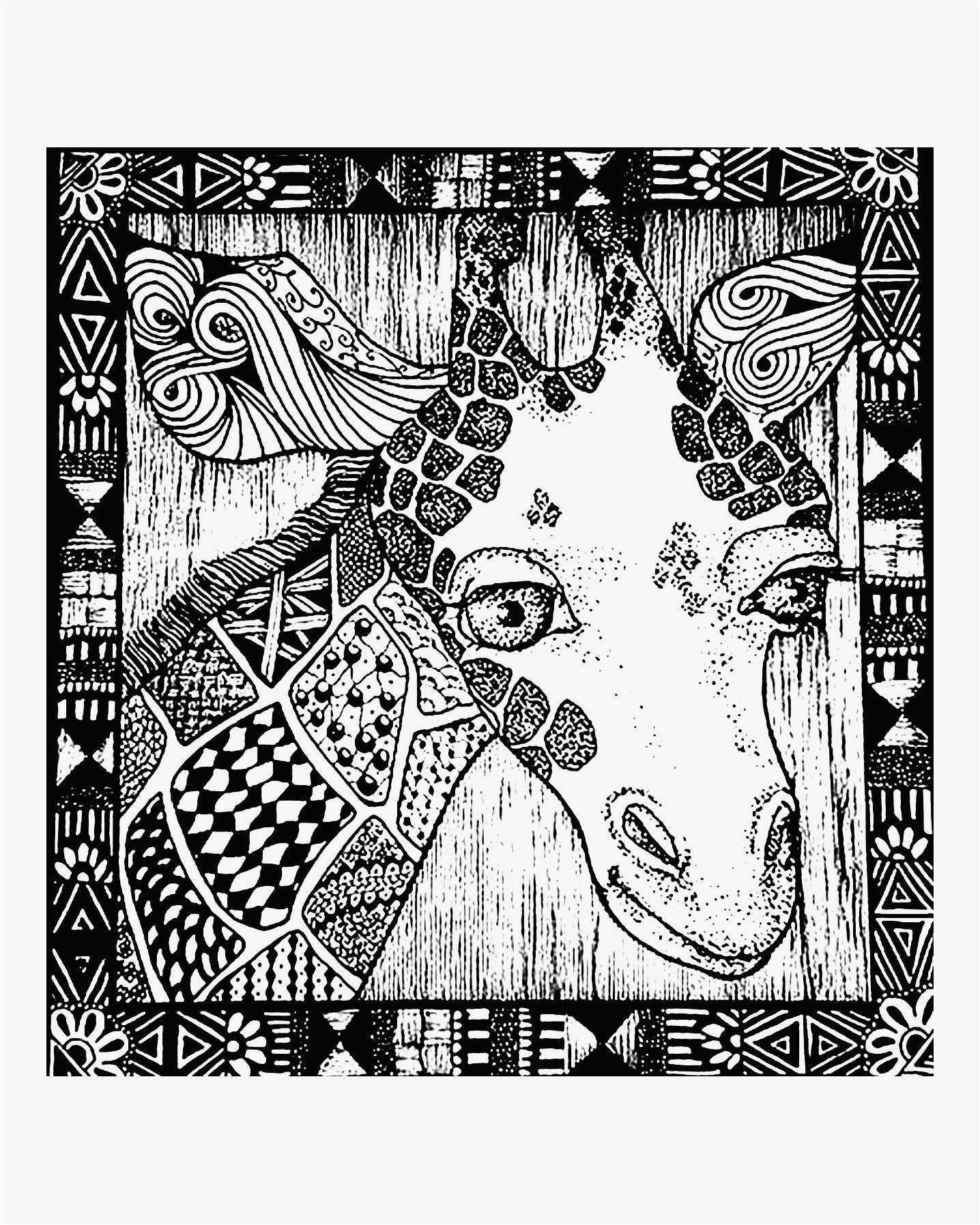 Llama Christmas Coloring Pages With Painting Picture To Paint Luxury