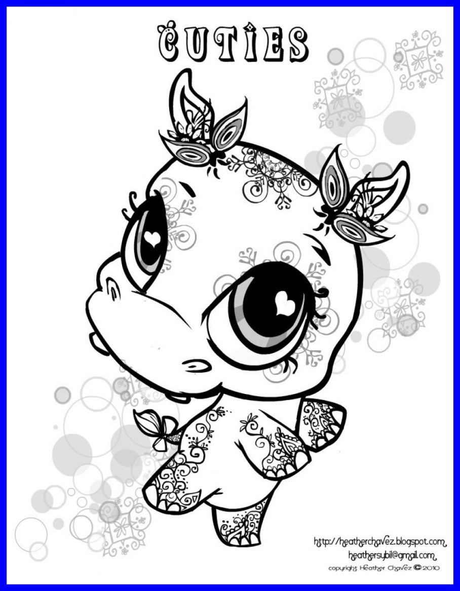 Lps Christmas Coloring Pages With Printable Educations For Kids