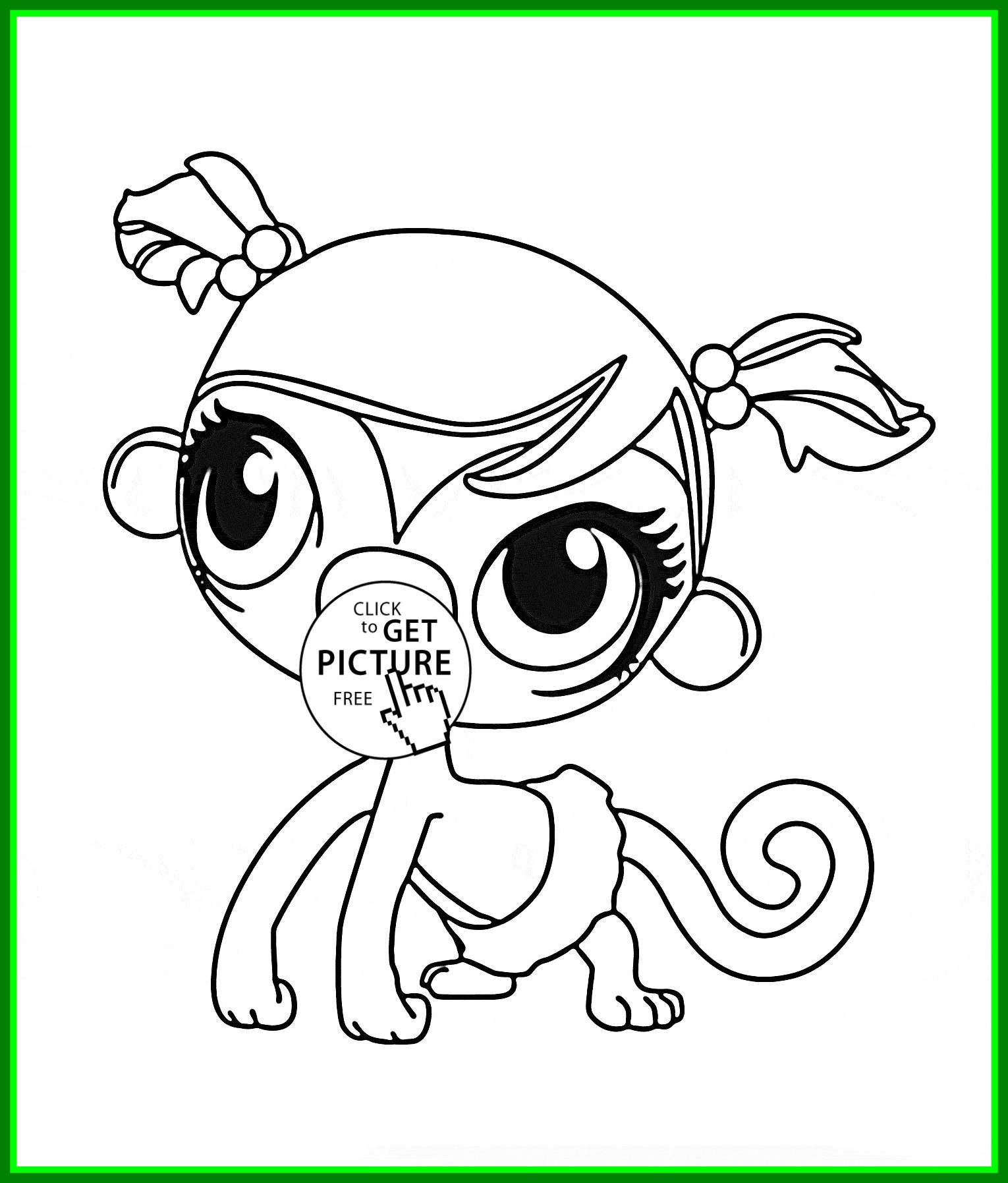 Lps Christmas Coloring Pages With To Print Best Image Of Page Revimage Co