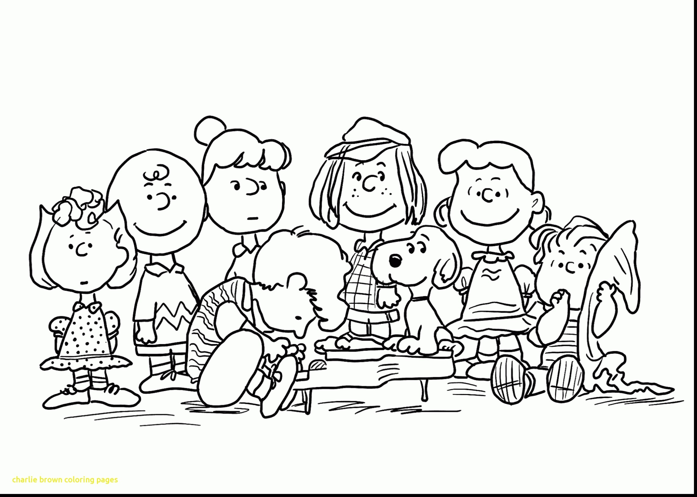 Merry Christmas Charlie Brown Coloring Pages With Snoopy Download Free Books