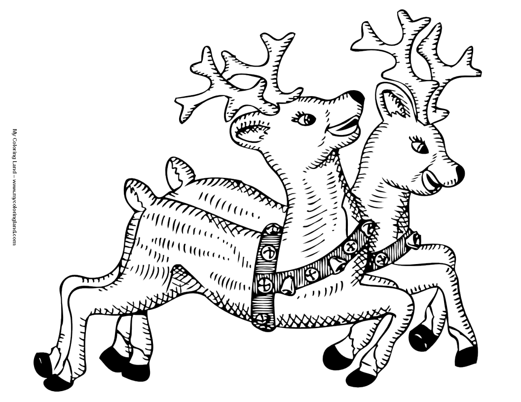 Merry Christmas Coloring Pages For Toddlers With My Land