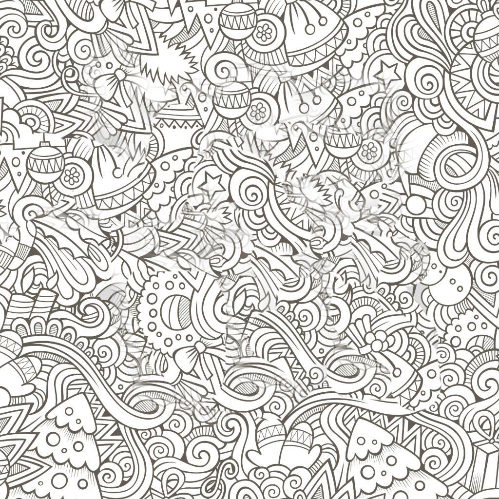 Merry Christmas Coloring Pages Pdf With Adult 2480386