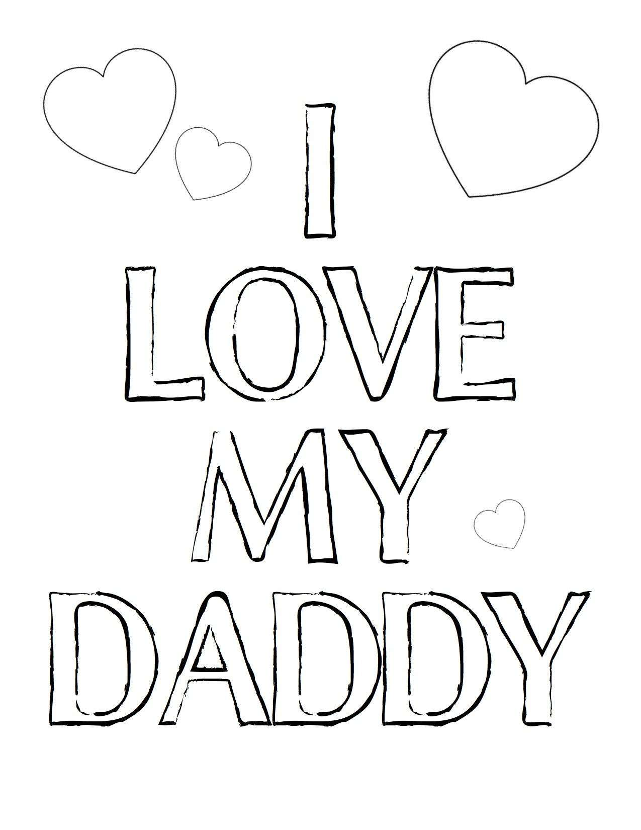 Merry Christmas Dad Coloring Pages With I Love My Mom And