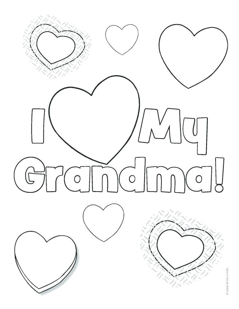 Merry Christmas Grandma Coloring Pages With Incredible Mors Day Printable Ma