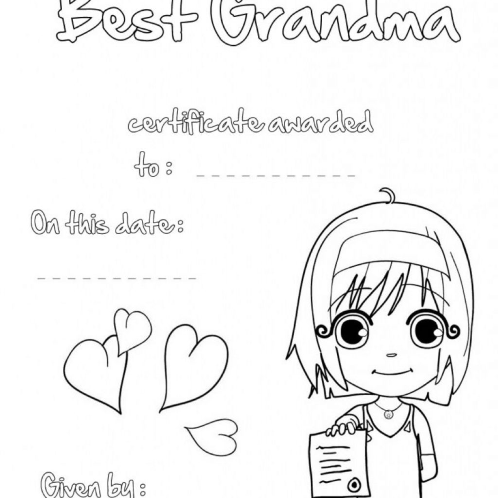 Merry Christmas Grandma Coloring Pages With Inspiring Aspiration Happy Mors Day Ma Messages