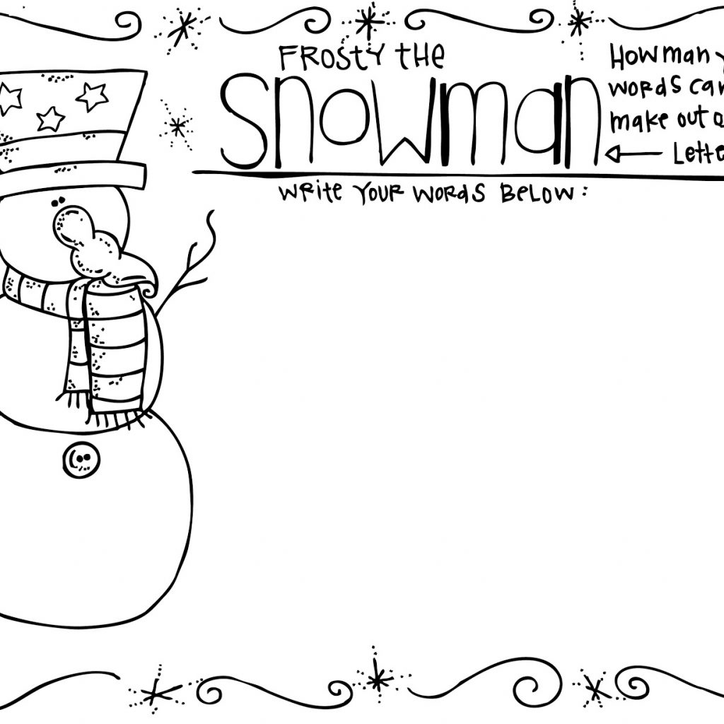 Merry Christmas Grandma Coloring Pages With MelonHeadz Freebies