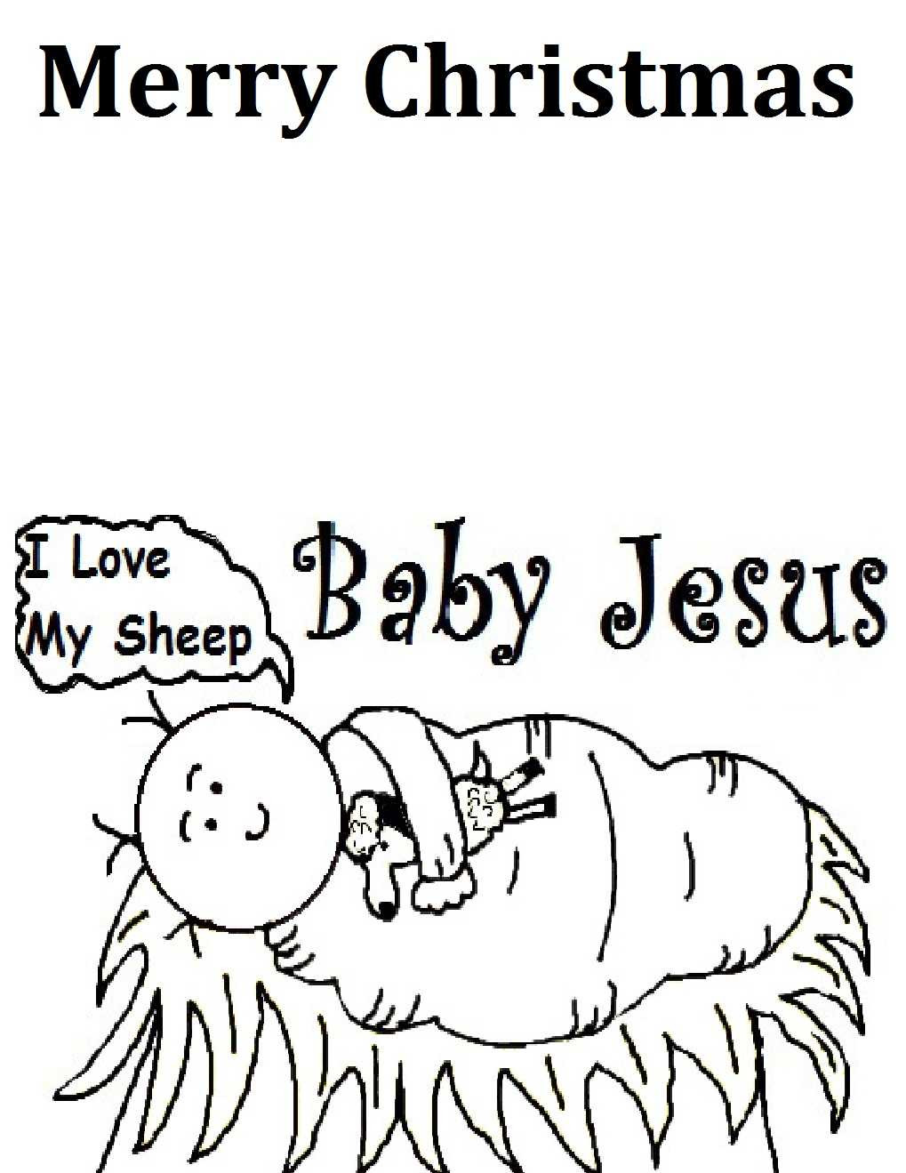Merry Christmas Jesus Coloring Pages With Happy Birthday Cupcake Page Mewarnai HAPPY